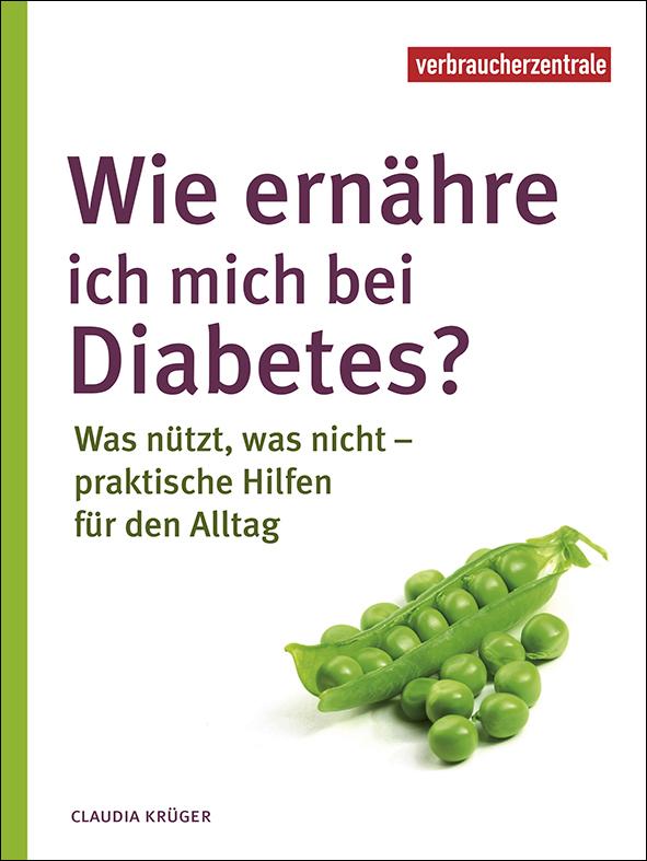 """Buchtitel """"Wie ernähre ich mich bei Diabetes ..."""