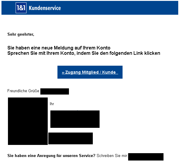 Phishing einsundeins